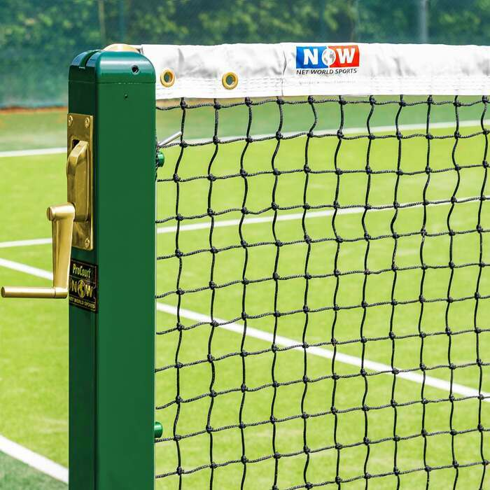Championship Tennis Nets | High Quality HDPE Twine Nets