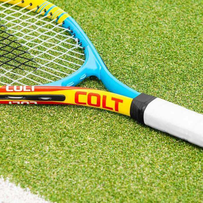 Kids Mini Tennis Racket | Blue & Yellow Racket