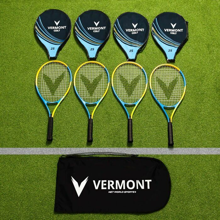 Vermont Tennis Racket & Bags Sets | Tennis Coaching Equipment