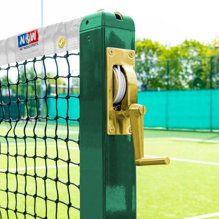 Tennispalen Oprolmechanisme Met Handvat | Vervangingsoprolmechanisme voor Tennispalen