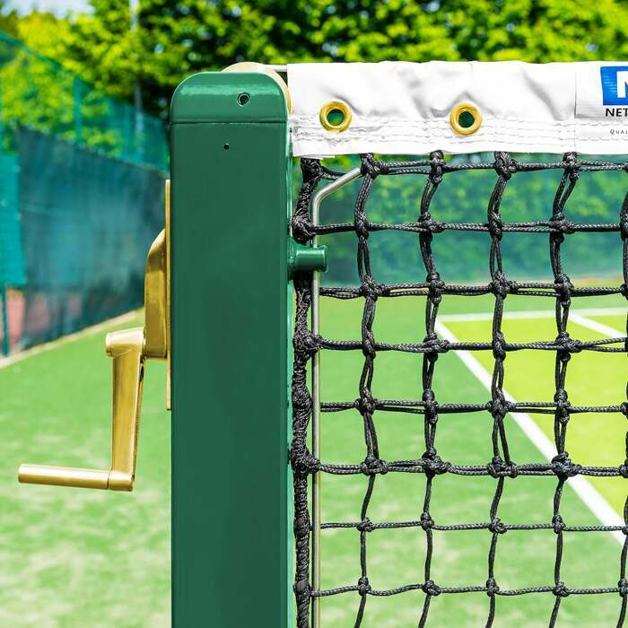 Professional Vermont Square Tennis Posts | Tennis Court Equipment