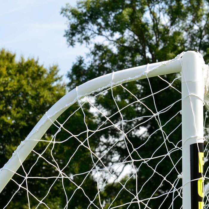 Easy To Assemble Soccer Goal For Backyard Futsal | Weatherproof Futsal Goal