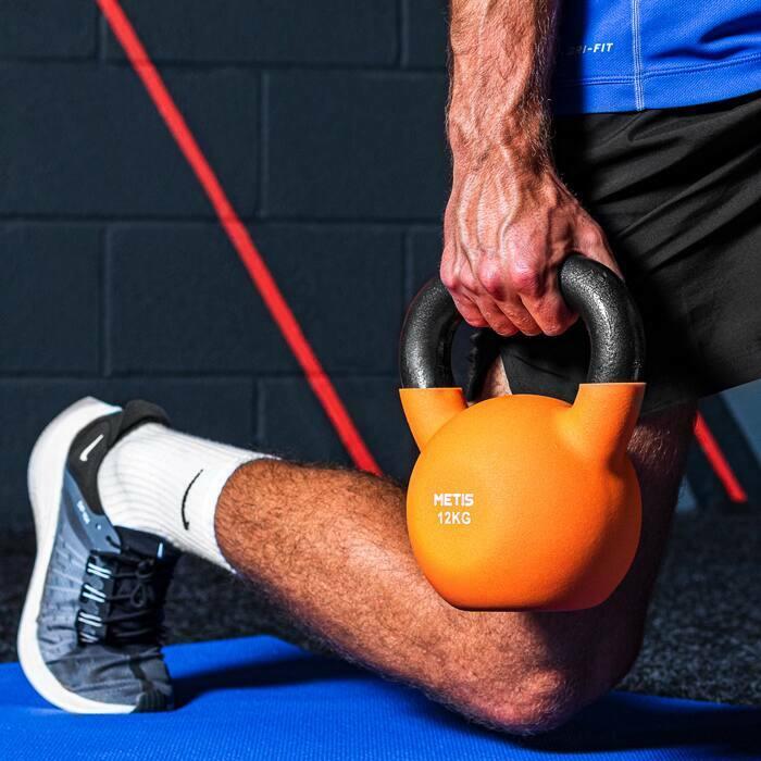 Non-Slip Grip Kettlebells