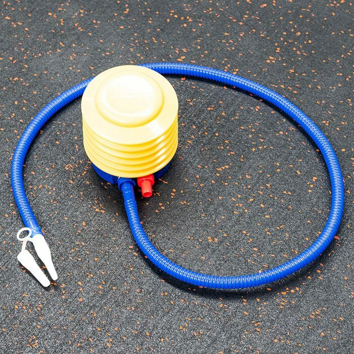 Anti-Burst Exercise Ball With Included Foot Pump