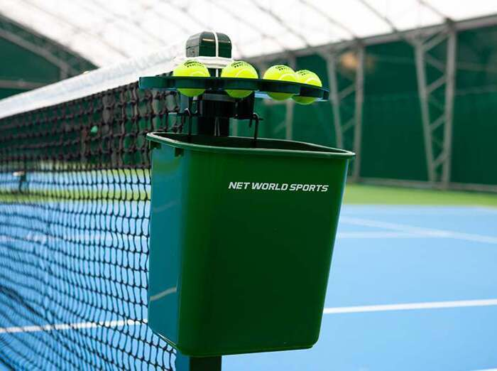 Net World Sports' Tennis Court Bin Shelf