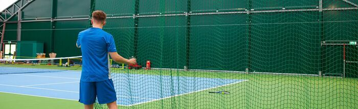 Net World Sports' Tennis Court Divider