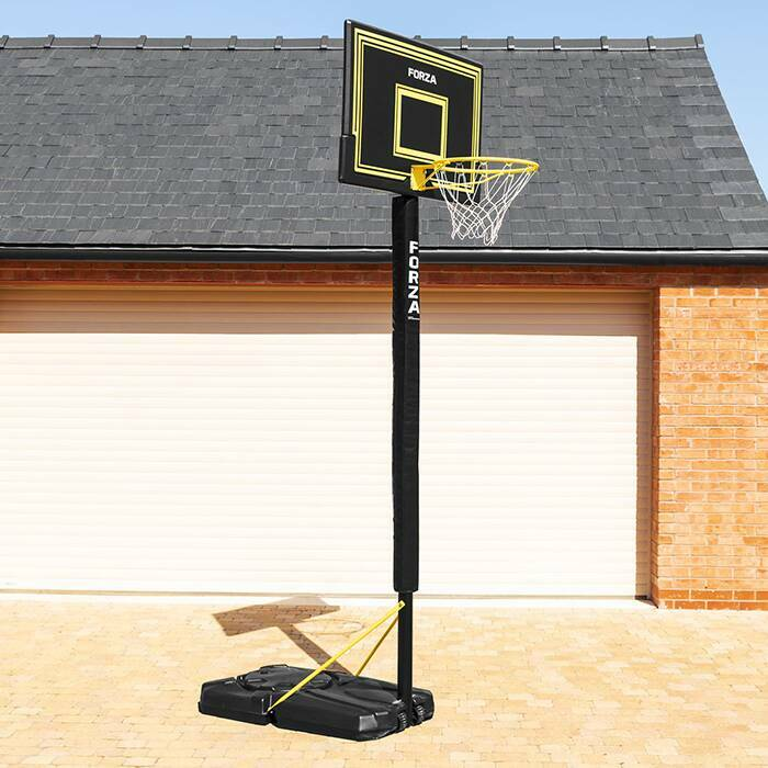basketball goal pad