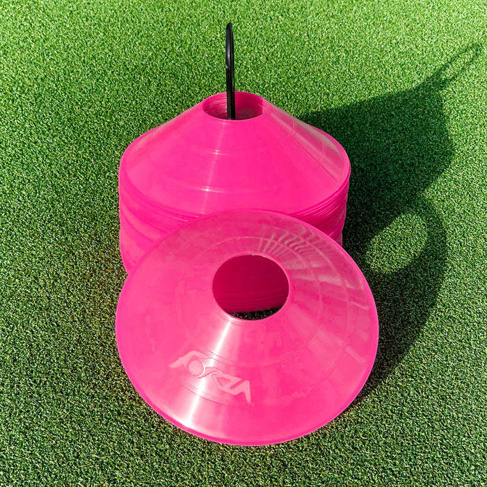 High-Visibility Tennis Training Cones | Plastic Cones