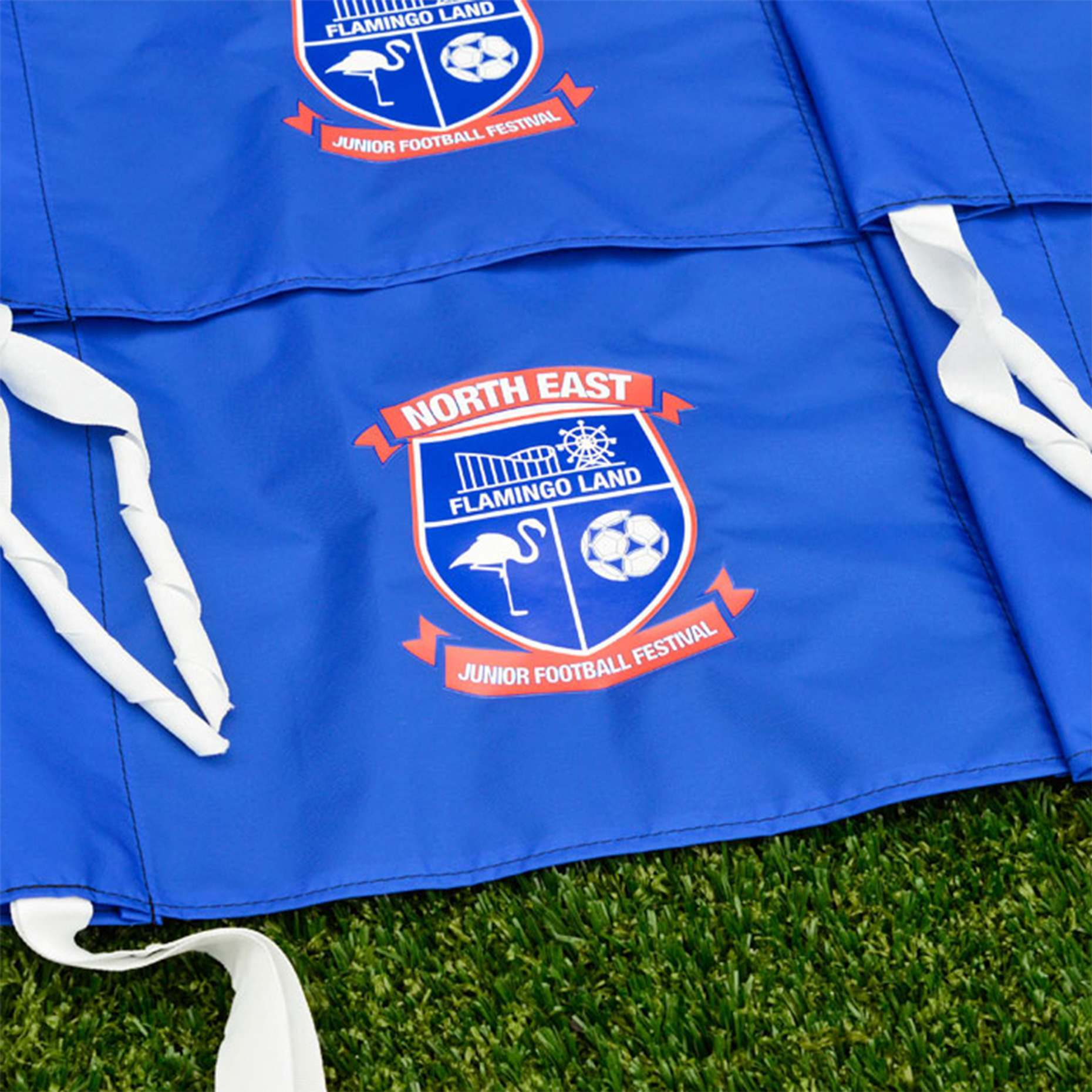 Weatherproof Football Corner Flags | For 25mm Poles