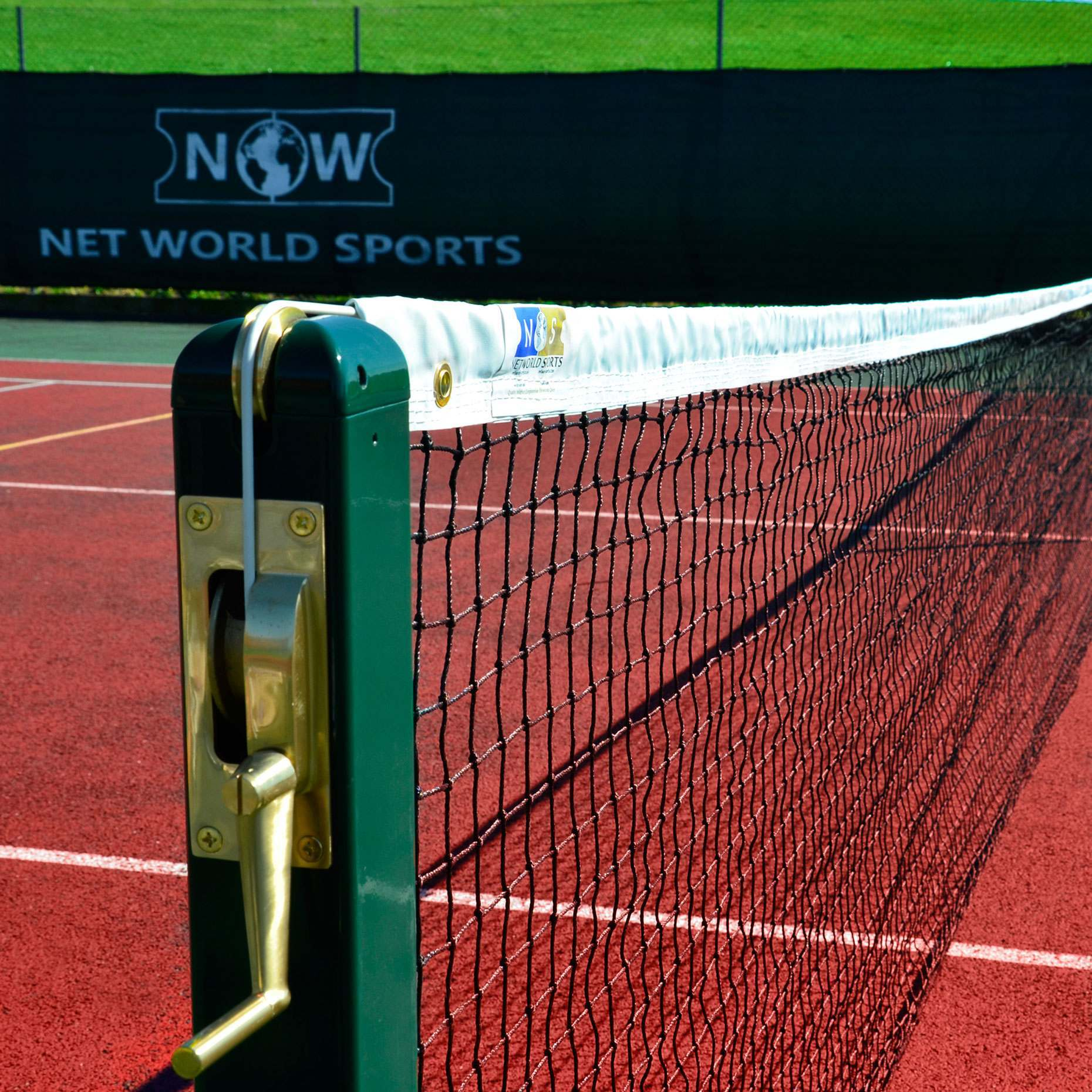 2.5mm Tennis Net - compatible with all tennis posts