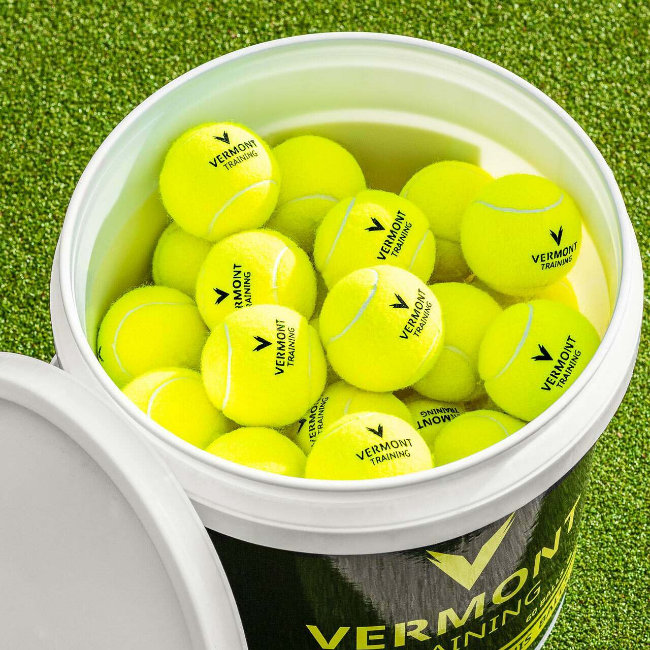 Pressureless Training Tennis Balls | Tennis Coaching Equipment