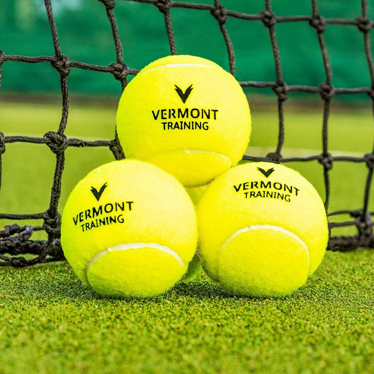 Pelotas de tenis para entrenamientos sobre cualquier superficie