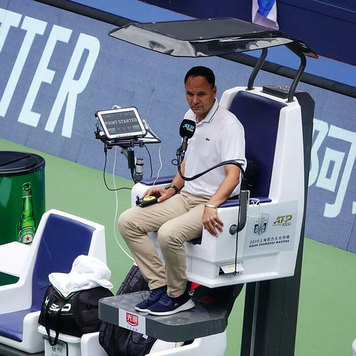 International Tennis Umpire Chair