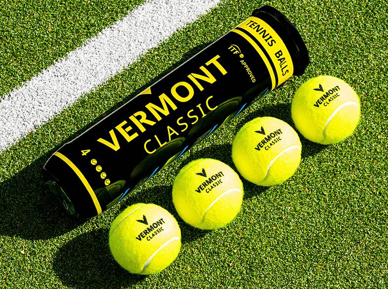 Vermont Classic Tennis Balls