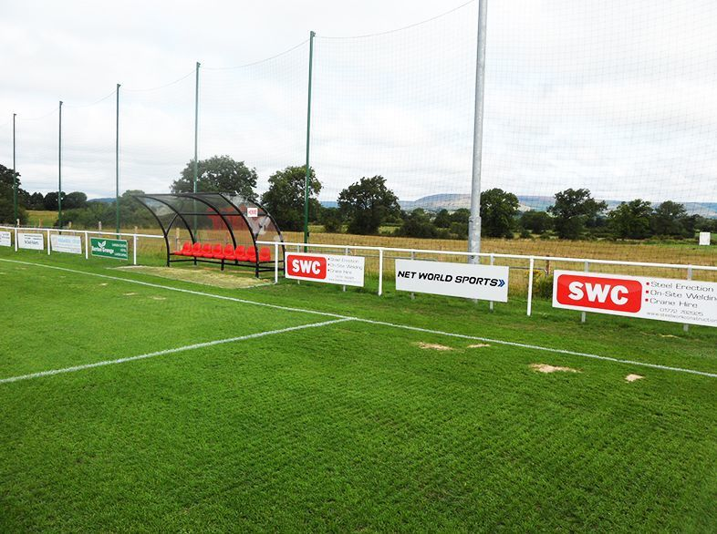 Net World Sports' Professional Milan Football Team Shelters at Longridge Town FC