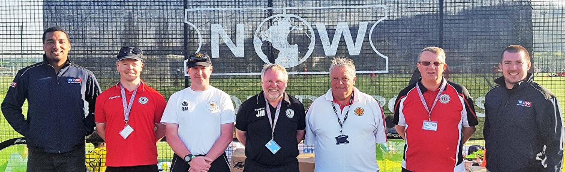 Welsh Schools' FA with Net World Sports Representatives