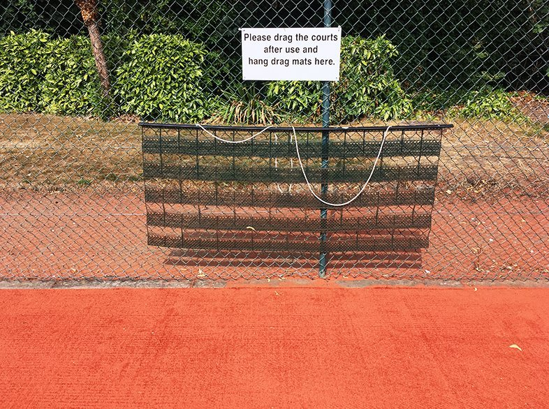 Aussie Cleansweep Tennis Court Drag Nets from Net World Sports