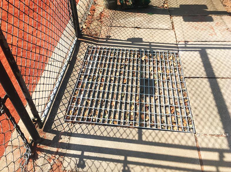 Galvanised Steel Floor Grates from Net World Sports