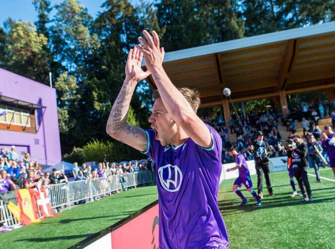 Pacific FC v HFX Wanderers FC Canadian Premier League match