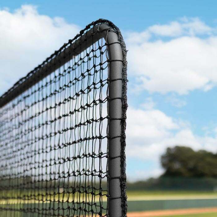 Galvanised Steel L Screen Frame | Professional Baseball Protective Screens
