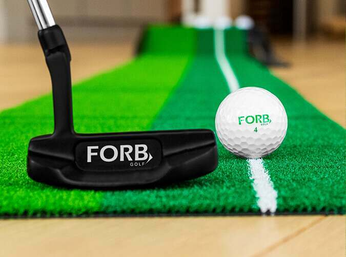 FORB 10ft dual speed putting mat