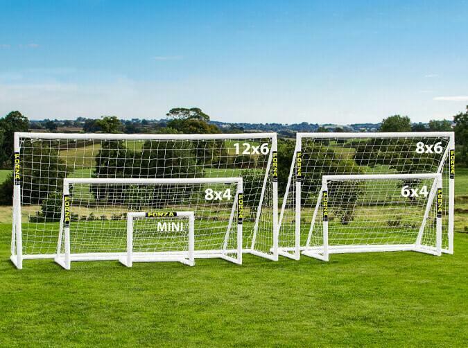 FORZA PVC garden football goals