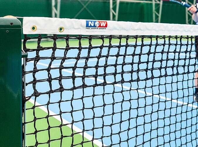 Vermont tennis net for tennis clubs