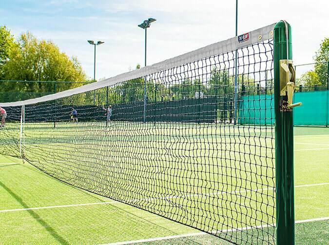 Vermont 2.5mm singles tennis net