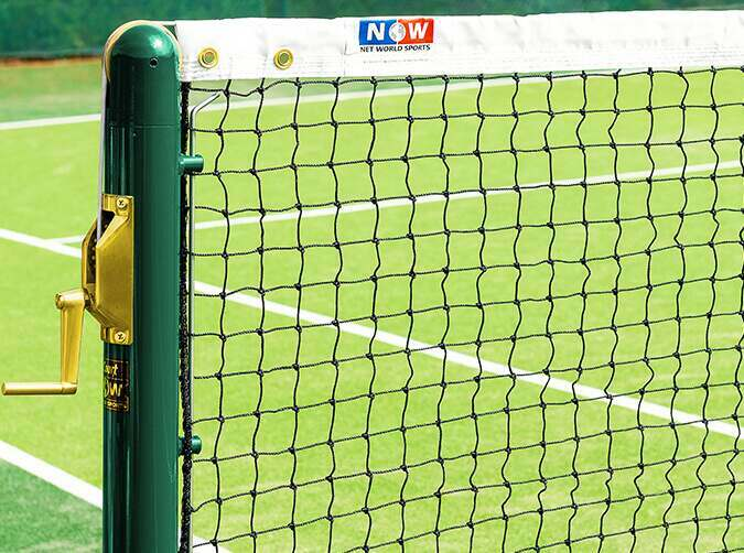Vermont tennis net for sports centres and schools