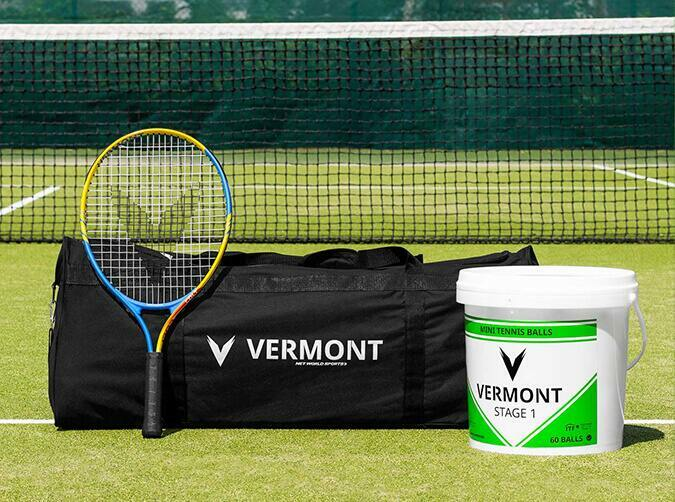 Vermont mini green tennis set