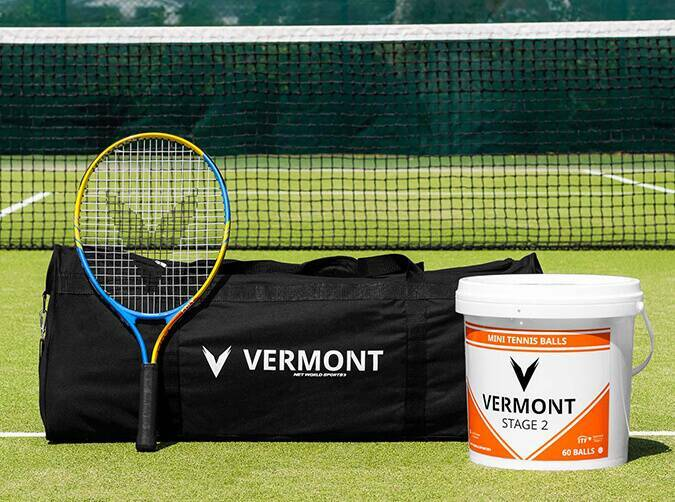 Vermont mini orange tennis set