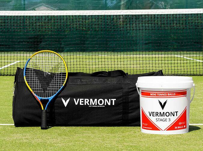 Vermont mini red tennis set