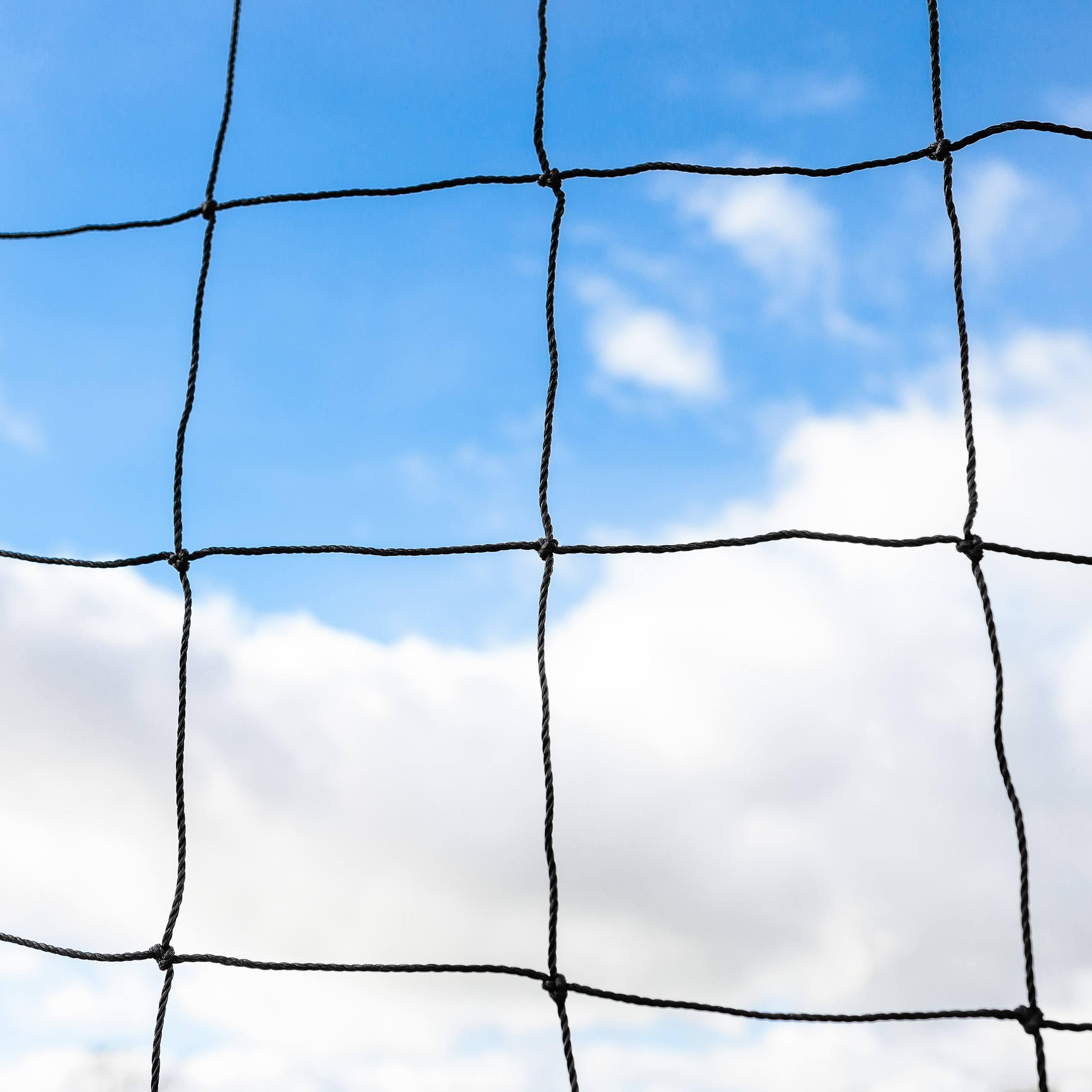 Football ball stop netting