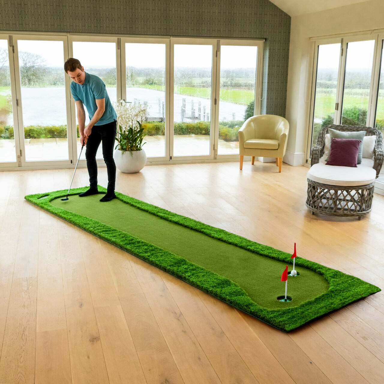 FORB PROFESSIONELE GOLF PUTTING MAT