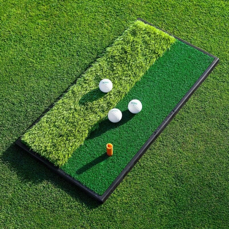 FORB LAUNCH PAD TAPIS D'ENTRAÎNEMENT DE GOLF – DOUBLE FACE