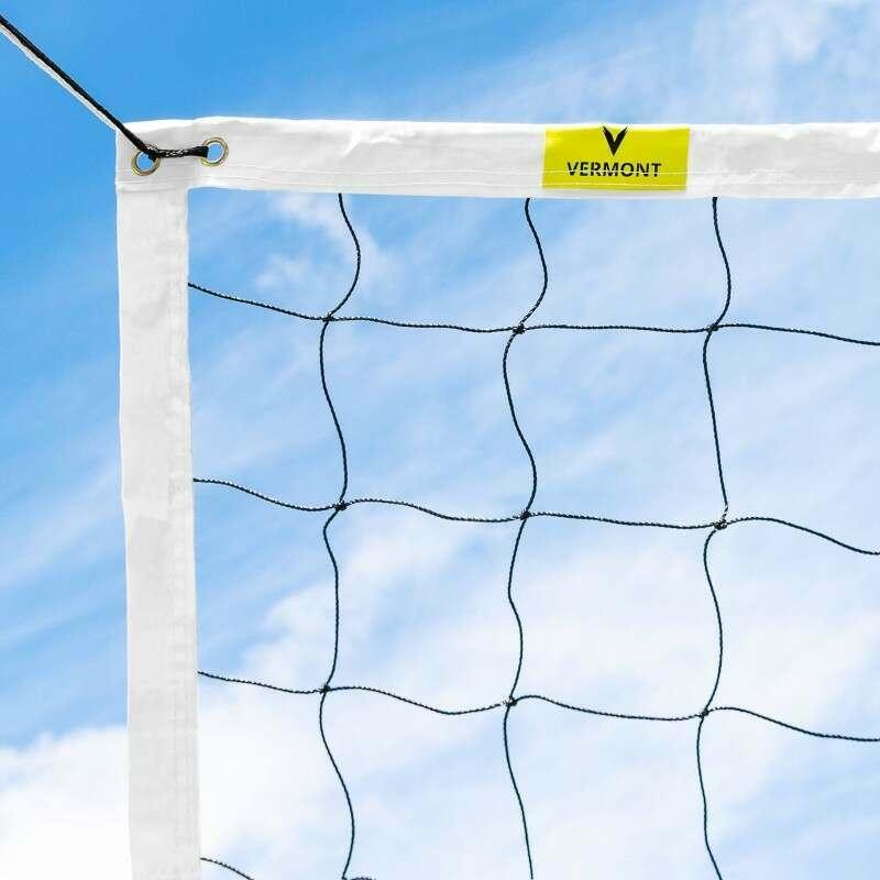 Rete da pallavolo regolamentare con fascia superiore