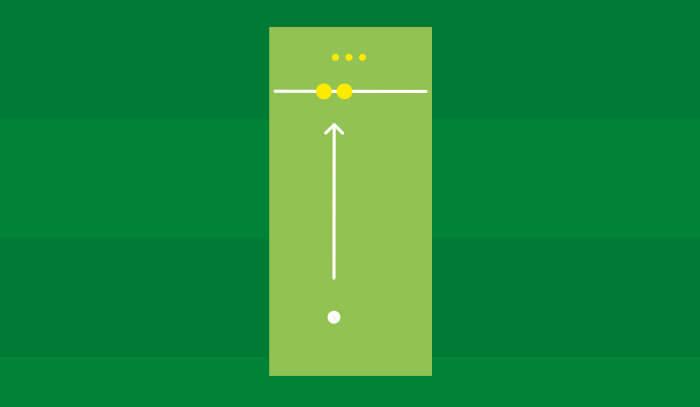Bowling Cricket Drill 1